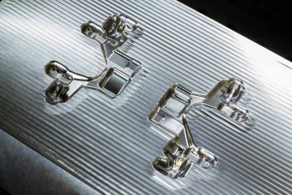 Mecanizado de moldes, troqueles y matrices